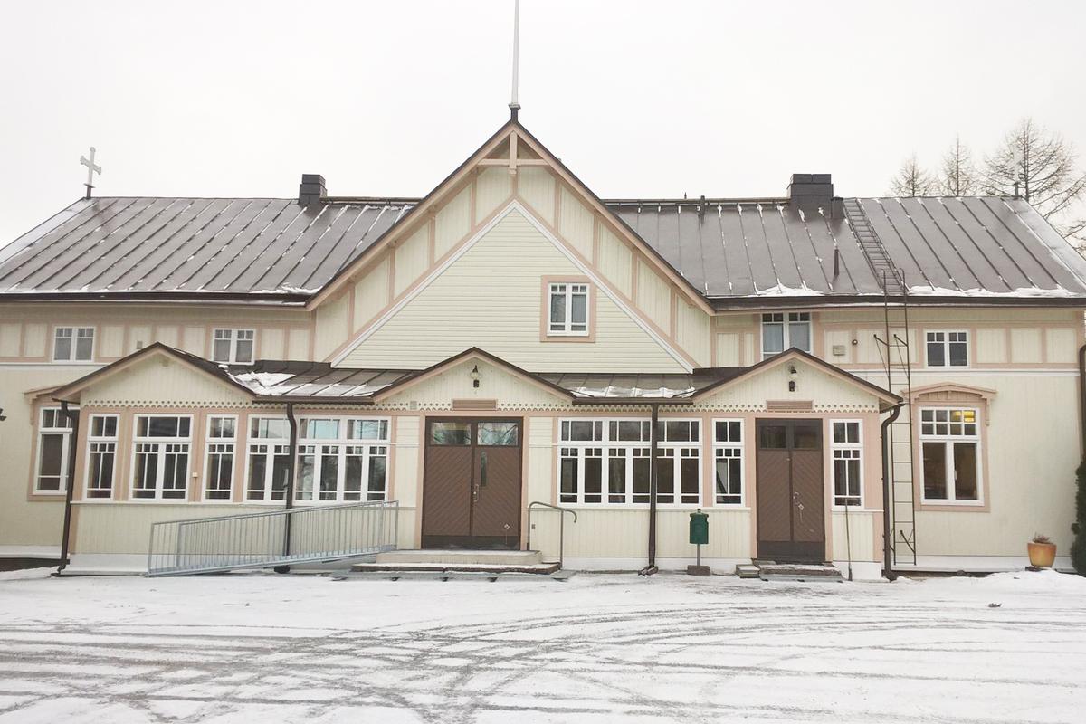 Tarvasjoen seurakuntatalo